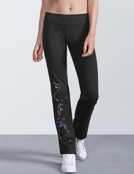 USA Garland on trousers