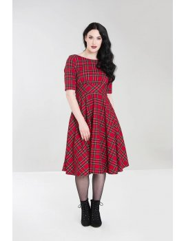 Irvine dress hellbunny