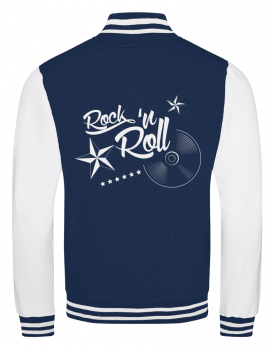 Rock'n Roll varsity jacket