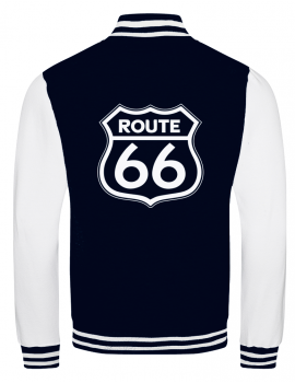Route 66 college jacket