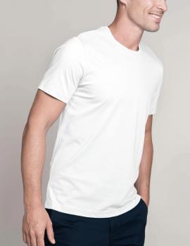 Short sleeve crew neck t-shirt