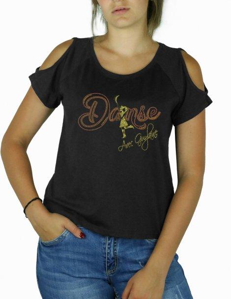 T-shirt guylaine Bourdage choregraphe country