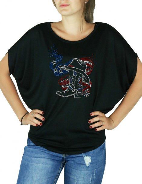 American Boot - Batwing t-shirt