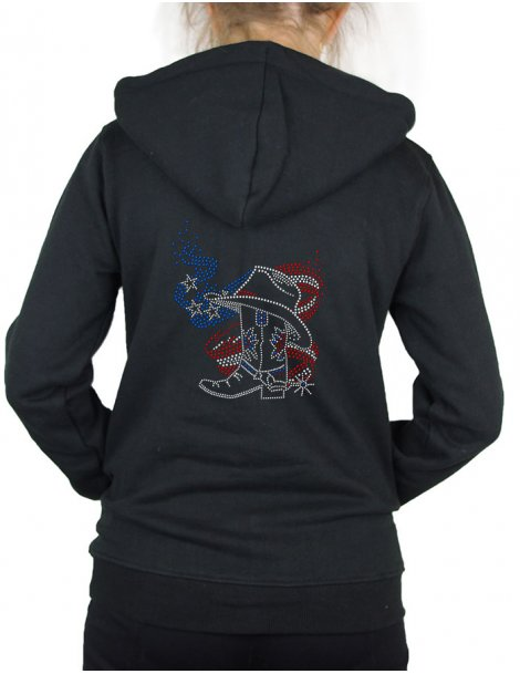American Boot - Veste à capuche Femme