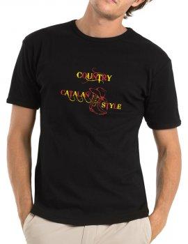 Dance Catalan country - Man tee shirt round neck
