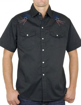 American Boot - Chemise Homme manches courtes