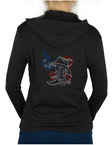 American Boot - Women's light jacket hooded