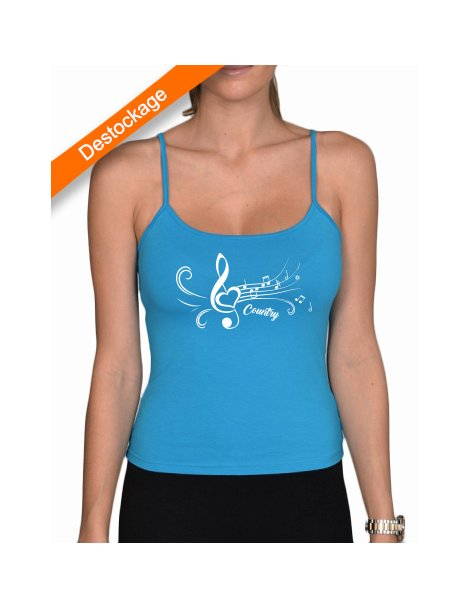 Country treble clef top