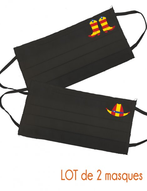 pack of 2 catalan country mask