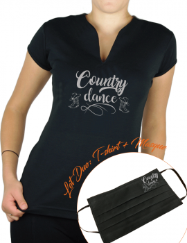 COUNTRY DANCE - Lady V neck