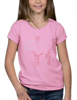 I love Ballet - T-shirt Fillette