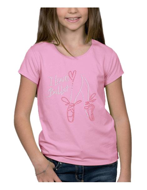 Ballet dance - kid tee shirt