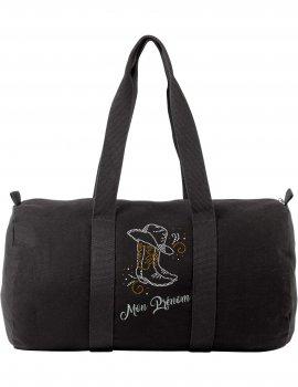 Arabesque boots - Canvas bag