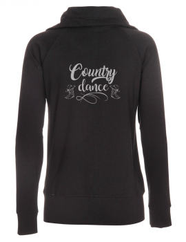 Country dance- Lady zipped sweat