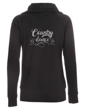 Country dance- Veste femme col montant