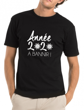 2020 to be banned-man tee shirt
