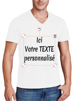 T-shirt homme V Flex