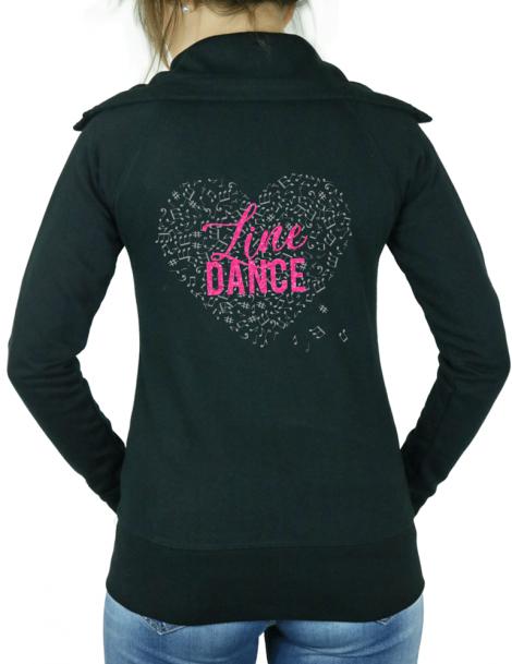 Line dance - Lady zipped sweat