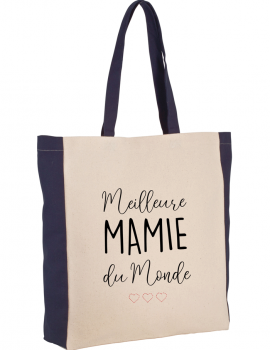 Best grand ma of the wolrld two-tone tote bag