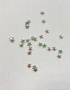 SILVER Stars 5mm