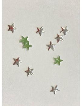SILVER Stars 8mm