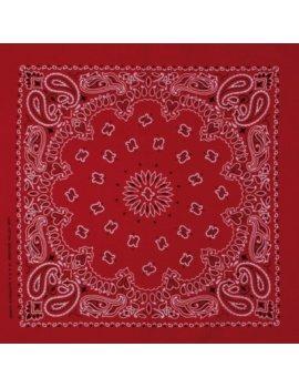 Bandanas rouge et blanc