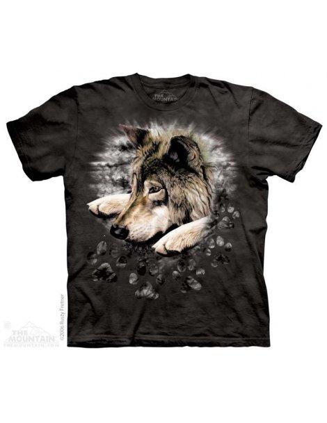 Loup t-shirt mountain