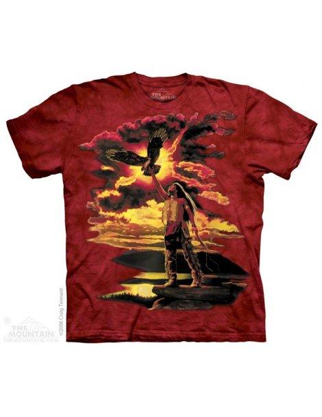 t-shirt amérindien Mountain