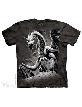 Black dragon The mountain t-shirt