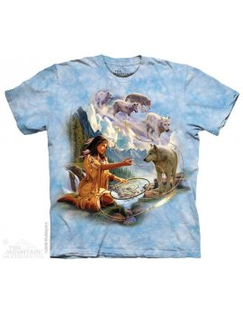 Dreams Of The Wolf - T-Shirt indienne - The Mountain