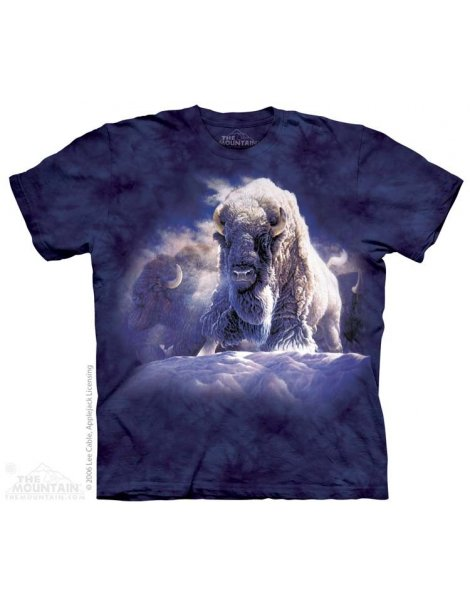 His Divine Presence - T-shirt bison - The Mountain