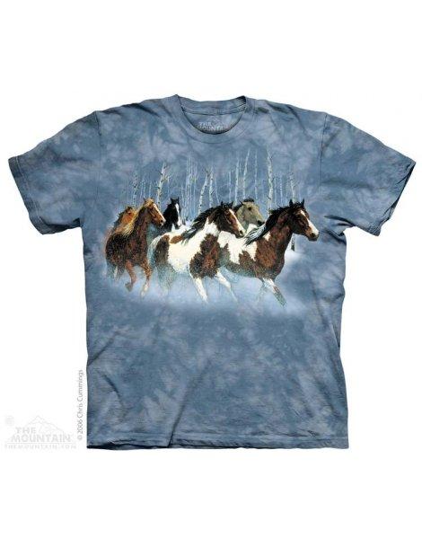 Winter Run - Tshirt cheval - The Mountain