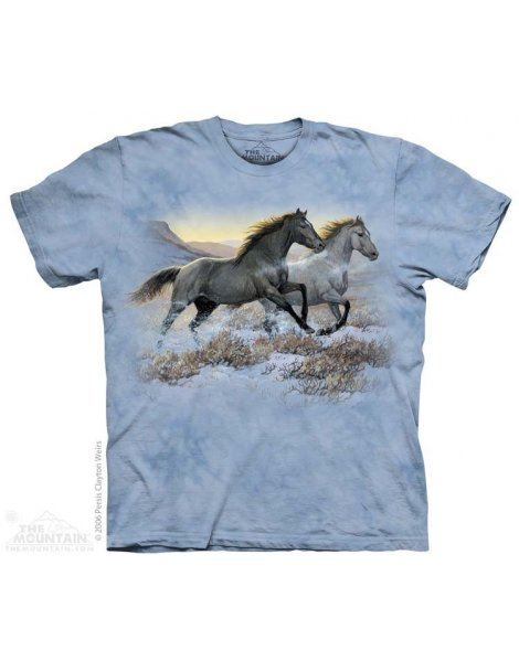 Running Free - T-shirt cheval - The Mountain