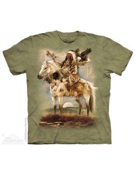 T-shirt motif indien