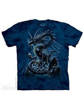 Skull Dragon - T-shirt - The Mountain