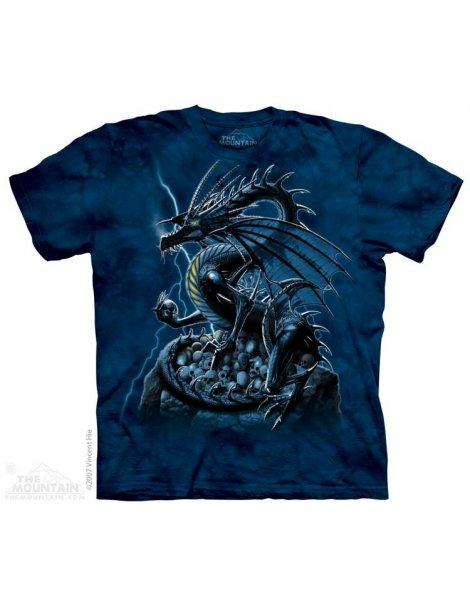 Skull Dragon - T-shirt - The Mountain
