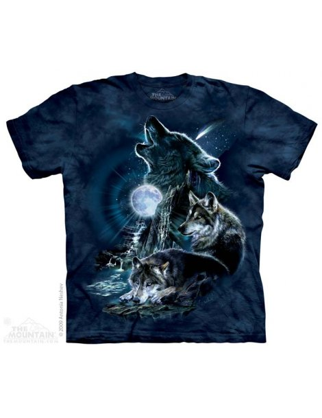 Bark At The Moon - T-shirt - The Mountain