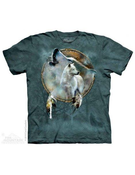 Wolf Spirit Shield -Tshirt loup -The Mountain