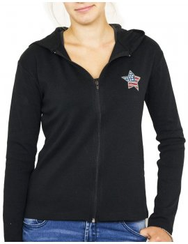 Star USA light hooded jacket
