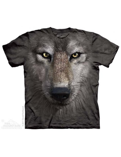 Wolf Face - Tshirt - The Mountain