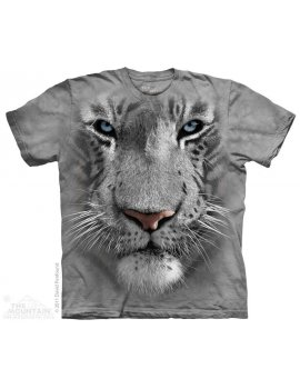 T-shirt The mountain - White tiger face