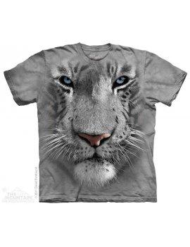 White Tiger Face - T-shirt tigre - The Mountain
