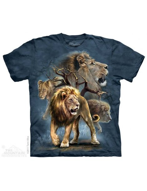 Lion Collage - Tee-shirt - The Mountain