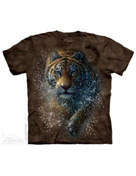 Tiger Splash - T-shirt tigre -The Mountain