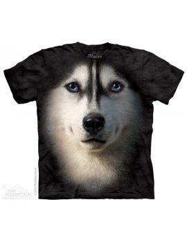 T-shirt The Mountain - Siberian Face - Husky siberian dog