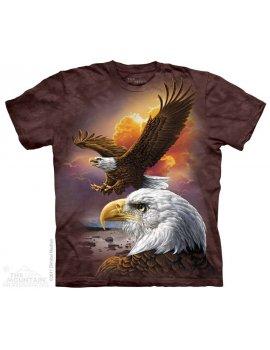 Eagle & Clouds - Tee-shirt aigles - The Mountain