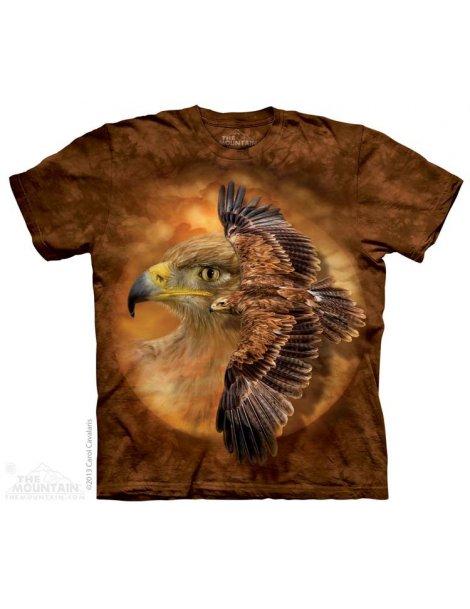 Tawny Eagle Spirit - T-shirt aigles - The Mountain