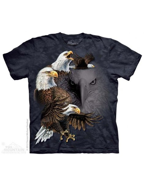 Find 10 Eagles - T-shirt aigle - The Mountain