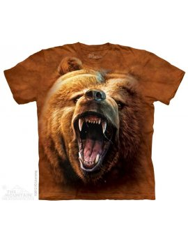 Grizzly Growl - Tshirt ours - The Mountain