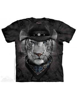 Cowboy White Tiger - T-shirt -The Mountain